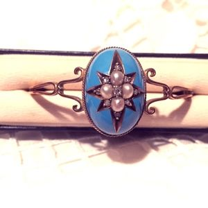 Jewelry - Victorian Era Bracelet, Gold, Diamonds and Pearls!